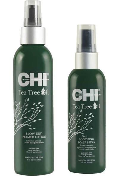 Chi Çay Ağacı Özlü Saç Bakım Seti 2