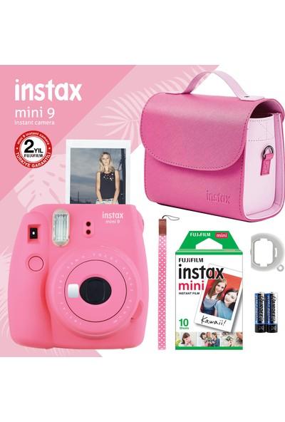 Instax Mini 9 Pembe Fotoğraf Makinesi ve Hediye Seti 4