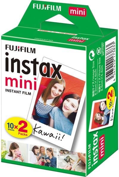 Instax Mini Liplay Hybrid Elegant Black Fotoğraf Makinesi 20'li Mini Film