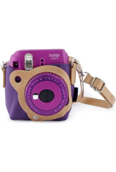 Fujifilm Case İnstax Mini 8 Çanta Mor