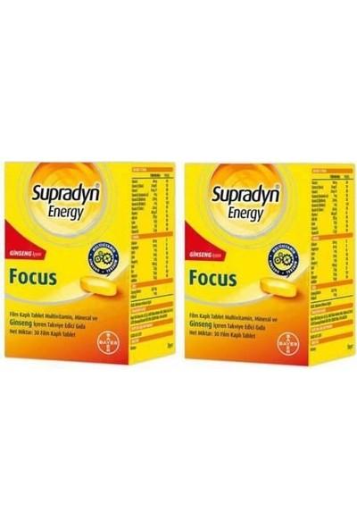 Supradyn Energy Focus 30 Tablet x 2 Kutu