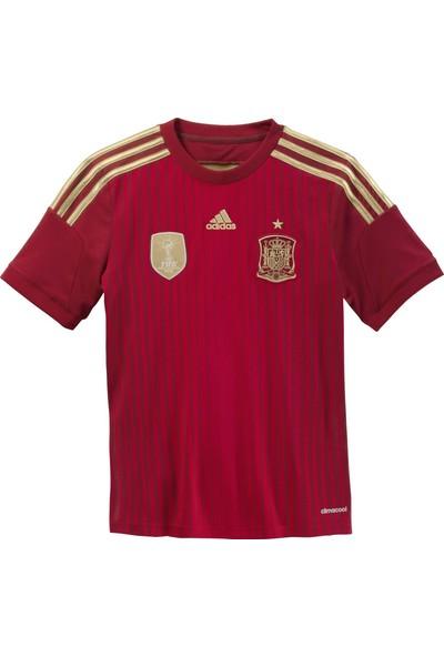 adidas Çocuk Futbol Forması Kırmızı Fef H Jsy Y G85231