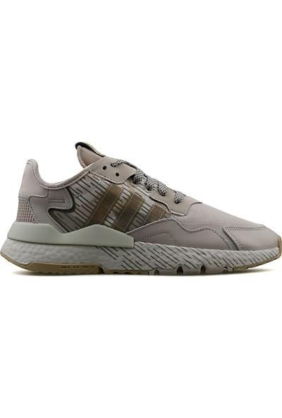 adidas Erkek Günlük Ayakkabı Gri Nite Jogger FV1323