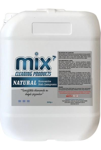 Mix Natural Halı Yıkama Şampuanı 20 kg