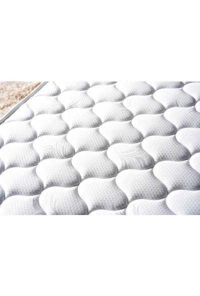Niron Smart Yatak Baza Başlık Seti - 90X190 Tek Kişilik Yatak Baza ve Başlık Takımı