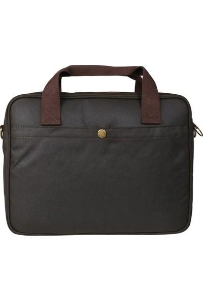 Barbour Longthorpe Yağlı 14 inc Laptop Çantası OL71 Olive