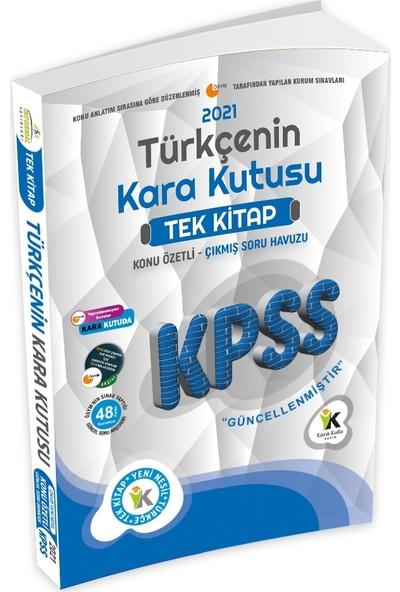 İnformal Yayınları 2021 KPSS Türkçenin Kara Kutusu TEK KİTAP Konu Özetli Güncel Çıkmış Soru Bankası