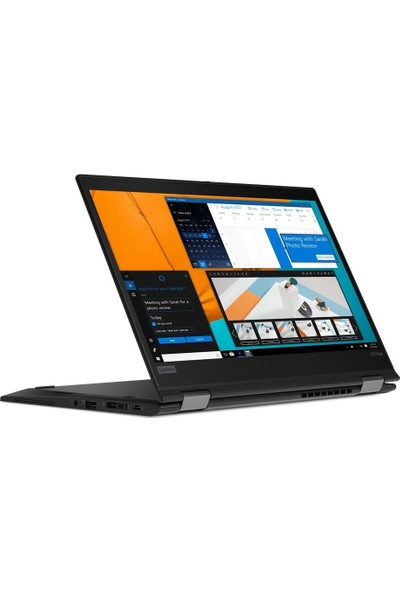 "Lenovo X13 Yoga Gen 1 Intel Core i5 10210U 8GB 256GB SSD Windows 10 Pro 13.3"" FHD Taşınabilir Bilgisayar 20SX0002TX"