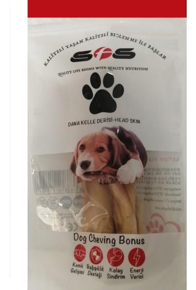 Sfs Kurutulmuş Dana Kelle Derisi Köpek Ödülü Çiğneme 100 gr
