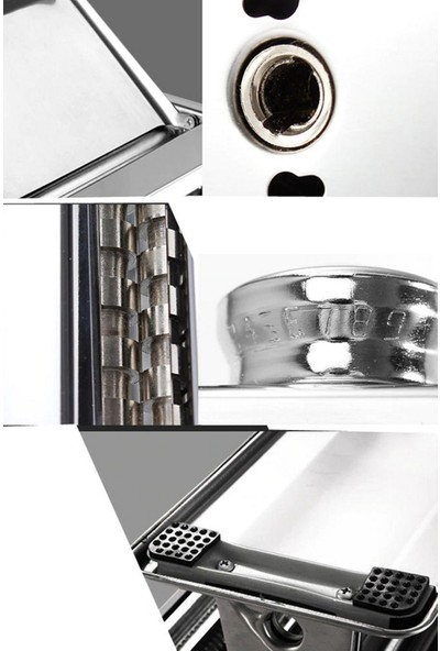 Ersamica Çelik 150 mm Erişte Makarna Hamur Kesme Makinesi
