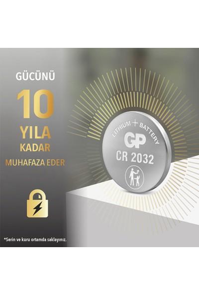 GP 5'li CR2032 3V Lityum Düğme Pil (GPCR2032-C5)