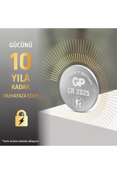 Gp Cr2025 3V Lithium 5Li Kartela