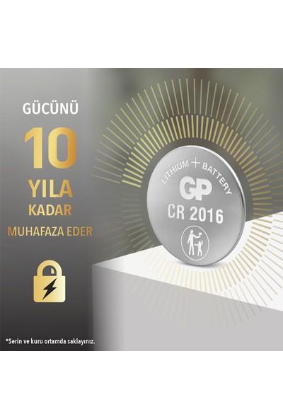 GP Tekli CR2016 3V Lityum Düğme Pil (GPCR2016-U1)