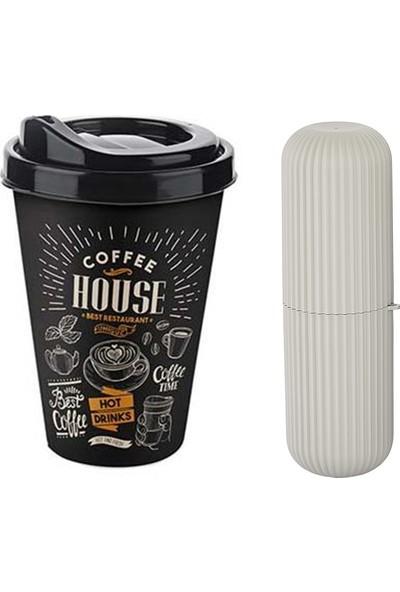 Transformacion 400 ml Kapaklı Kahve Bardağı Çanta Kutusu Hediyeli
