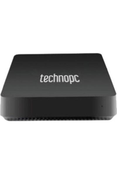Technopc NANO-Z 4120 Intel Atom Z 8350 4GB 120GB SSD + 32GB SSD Freedos Mini PC