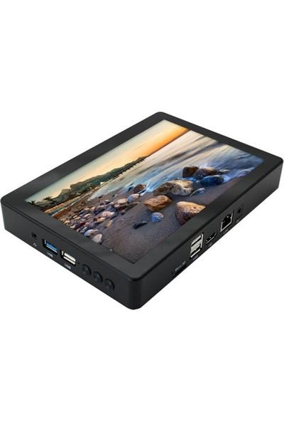 Technopc Q80 Magic Touch Intel Atom Z 8350 4GB 64GB SSD Windows 10 Home Mini PC