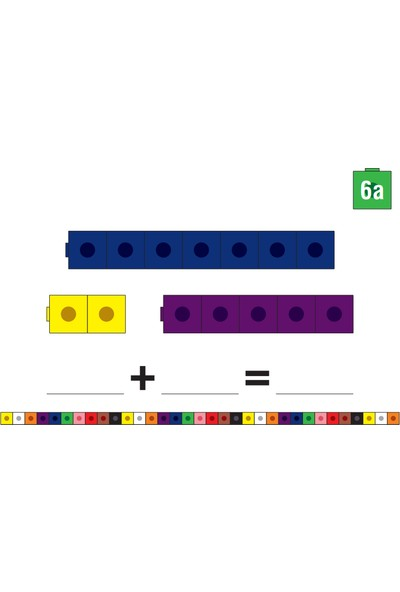 Meva Yayıncılık Matematiğe Ilk Adım Seti - Geçmeli Birim Küpler