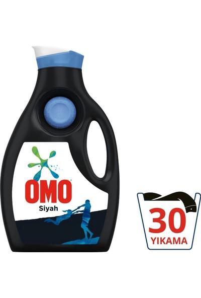 Omo Siyah Sıvı Deterjan 1950 ml + Yumoş Ekstra Lilyum 1440 ml + Domestos Kar Beyazı 750 ml 3'lü