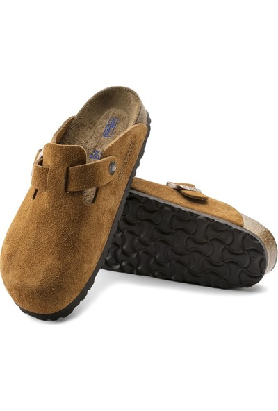 Birkenstock Brands Boston Suede Leather Terlik 01009543