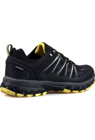 Hammer Jack Erkek Outdoor Ayakkabı 102 19905 Siyah Sarı-2