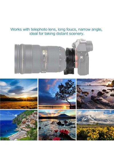 Nikon G / F / Aı / S / D Lens İçin Vıltrox Nf-Nex Montaj