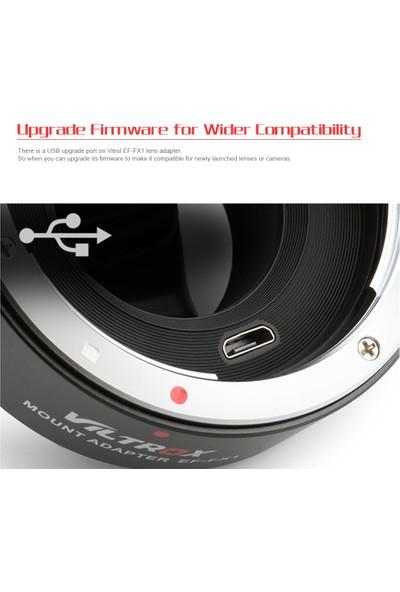 Viltrox Ef-Fx1 Otomatik Odak Lens Montaj Adaptörü Değiştirme
