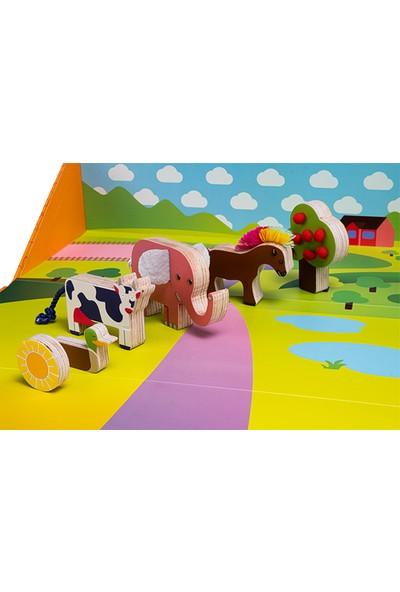 Alice & Grace Imaginory Çiftlik Temalı Hikaye Seti - Ahşap Oyuncak
