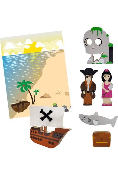 Alice & Grace Imaginory Korsan Temalı İçerik Paketi - Ahşap Oyuncak