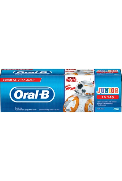 Oral-B Pro-Expert Stages Çocuk Diş Macunu Star Wars 75 ml (6+ Yaş)