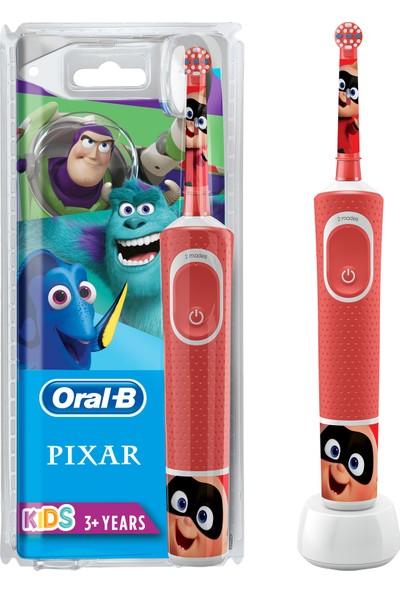 Oral-B Çocuklar İçin Şarj Edilebilir Diş Fırçası D100 Vitality Pixar Özel Seri