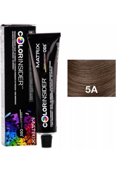 Matrix Color Insider Amonyaksız Saç Boyası 5A Açık Kestane Küllü 60ML