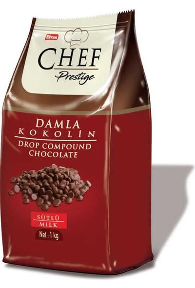 Elvan Chef Prestige Sütlü Damla Konfiseri 1000 gr