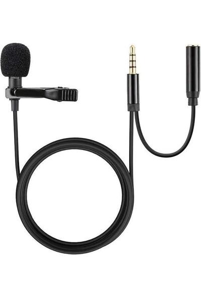 Paleon Plo-Dcc5 Yaka Mikrofonu + Kulaklık Aparatı