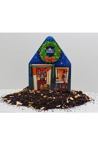 Beta Tea Beta Yılbaşı Özel Koleksiyon Blue House Teneke Kutu 50 gr