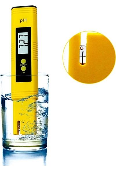 Tekno İstanbul Dijital Ph Metre 0.01 Çözünürlüklü Su Sıvı Ph Ölçer Otomatik Kalibrasyonlu