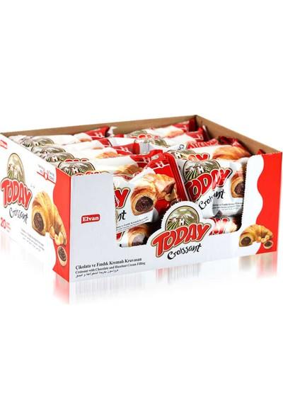 Elvan Today Kruvasan Çikolatalı 50 gr x 20'li