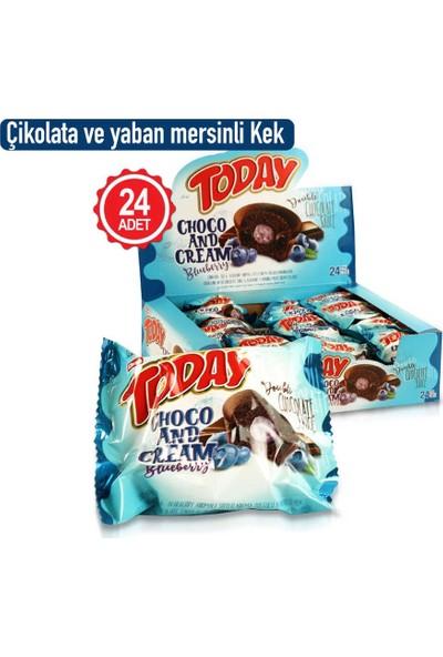 Elvan Today Double Choco And Cream Yabanmersinli 50 gr x 24'lü