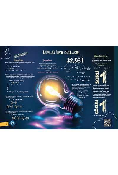 Kr Akademi Yayınları LGS Matematik Poster Notları