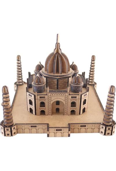 3D Sergi 3D Ahşap Puzzle Taj Mahal 180 Parça