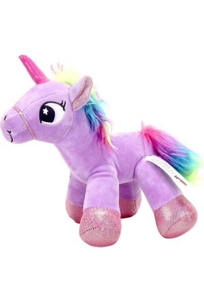 Mamitoys Sevgiliye Mor Unicorn Peluş 20 cm Unicorn Oyuncak