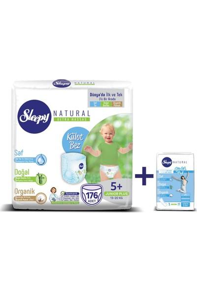 Sleepy Natural Külot Bez 5+ Numara Junior Plus Natural 176'LI