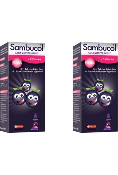 Sambucol Kids Şurup 120 ml 2 Adet