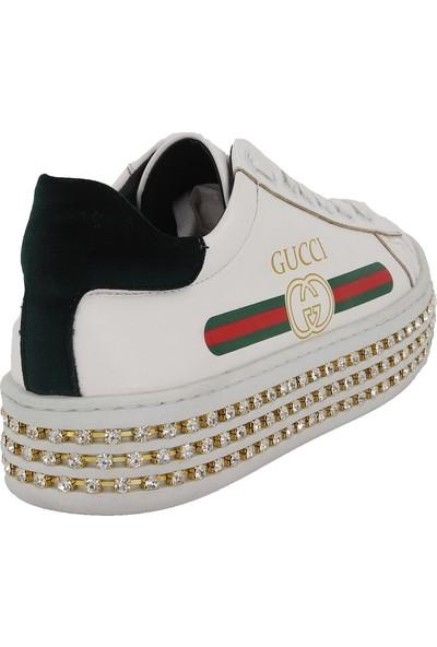Prins Beyaz Kadın Spor Ayakkabı 85