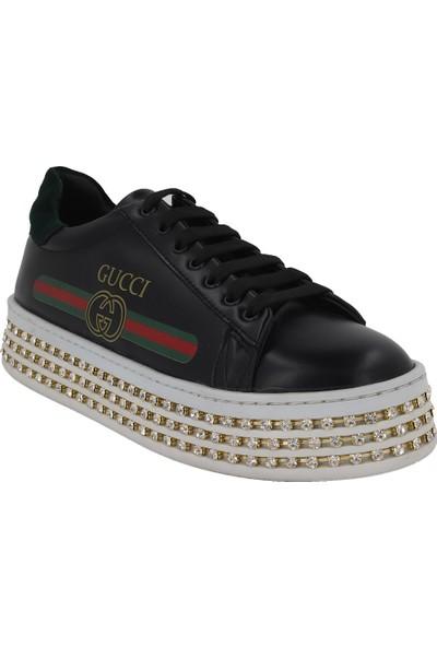 Prins Siyah Kadın Spor Ayakkabı 85