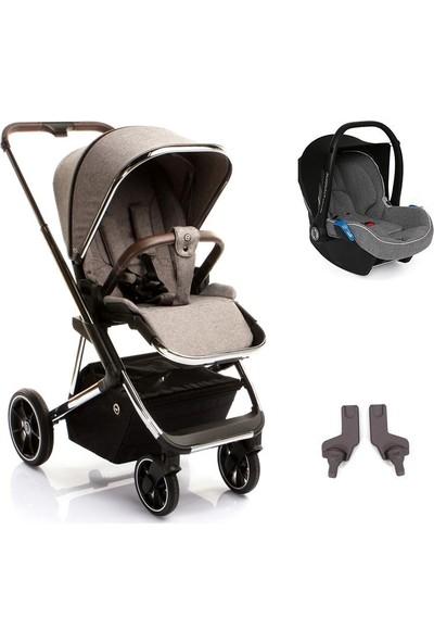 Bagi Nanofold Travel Sistem Bebek Arabası Chrome Royal Grey