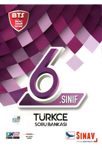 Sınav Yayınları 6. Sınıf Türkçe BTS Soru Bankası