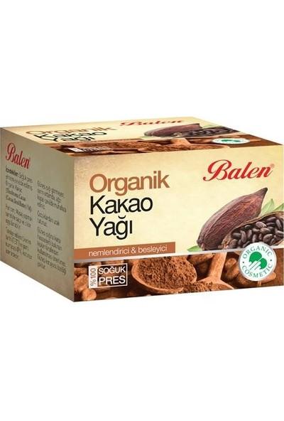 Balen Organik Kakao Yağı 50 ml * 3 Adet