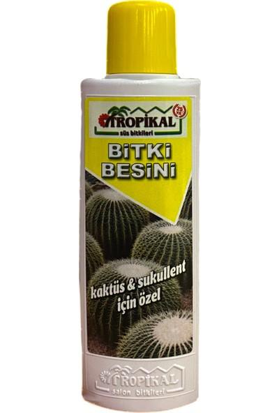 Tropikal Kaktüs ve Sukulent Için Özel Bitki Besini 225 ml