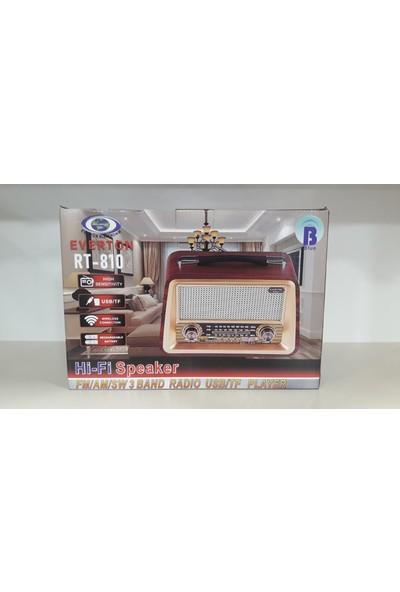 Everton RT-810 Nostaljik Bluetooth Radyo