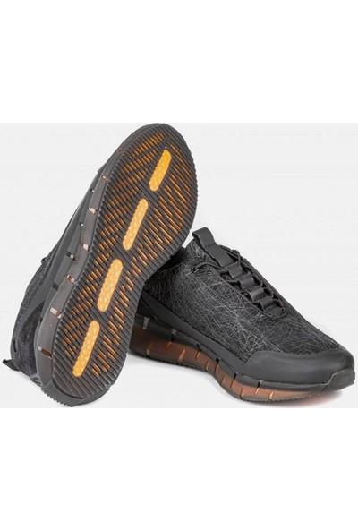 Marcomen Siyah Erkek Ayakkabı